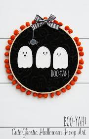 Haunted Halloween Stories by Cute Ghosties Halloween Hoop Art Holidays Halloween Ideas And