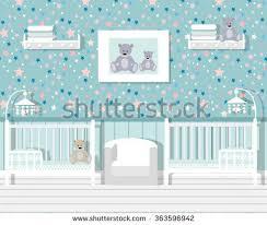 Children S Room Interior Images Childrens Room Furniture Little Twinschildren Playroom Stock