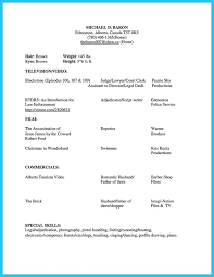 Best Resume Layouts by Actor Resume Template Printable Acting Resume Sample Actor Resume