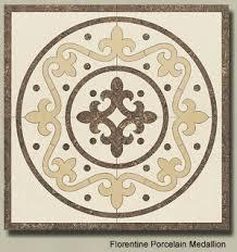 ceramic floor medallions water jet cut medallions