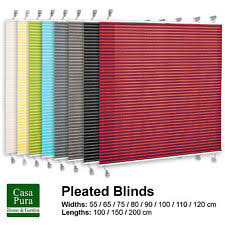 Pleated Blinds Pleated Blinds Ebay