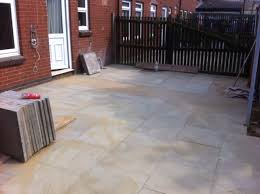 Slabbed Patio Designs Slabbing