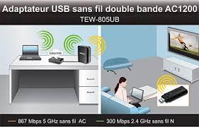 ordinateur de bureau wifi intégré trendnet tew 805ub carte réseau trendnet sur ldlc com