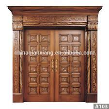 Wooden Main Door 2015 China Supplier High Quality Modern Teak Wood Main Door