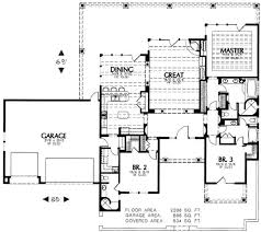 southwest floor plans adobe southwestern style house plan 3 beds 3 00 baths 2398 sq