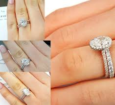 engagement ring and wedding band mixing and matching wedding bands jewelry engagement