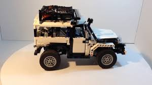 land rover lego lego technic rc land rover defender 90 youtube