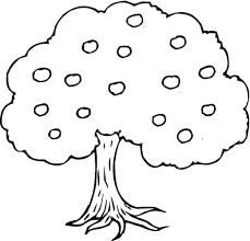 winter colouring sheet coloring 11 apple tree coloring