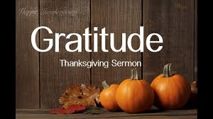 thanksgiving sermon gratitude by pastor daniel felipe
