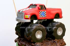 childrens monster truck videos cakes monster truck how to make the truck part 2 of 3 jessica