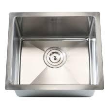 Single Undermount Kitchen Sinks by Emodern Decor Ariel 18