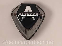 jdm toyota 00 05 lexus is300 front grill altezza emblem black