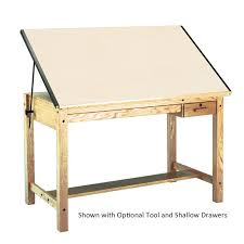 Drafting Table Images Mayline Wood Four Post Drawing Drafting Table 60