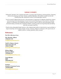 Sample Of Paralegal Resume by Legal Assistant Resume 3 Legal Assistant Resume Devan Porter