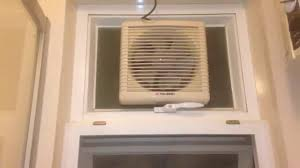 TCL Exhaust Fan In Our Friends Bathroom YouTube - Bathroom fan window