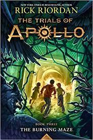 amazon com the trials of apollo book three the burning maze