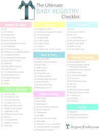 register for baby shower baby shower gift checklist baby shower gift ideas