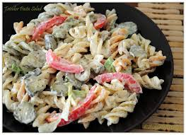 creamy tricolor rotini pasta salad salads i love or want to try