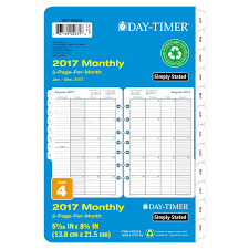 amazon black friday one per customer amazon com day timer monthly planner calendar refill 2017 two