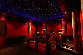 home theater decoration creative starlight home theater decor color ideas contemporary and