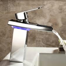 Oil Rubbed Bronze Vessel Sink Faucet Waterfall Bathroom Sink Faucet