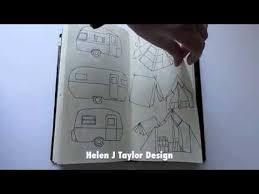 sketch book tour midori travelers notebook youtube