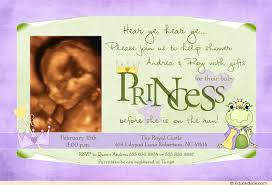 frog baby shower frog princess shower invitation baby girl froggy crown