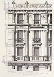 French Apartments Detail Of Elevation Of An Apartment Building On Boulevard Saint