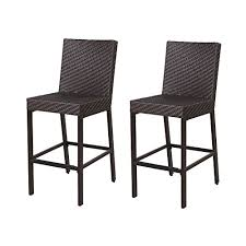 Chair For Patio Lch Wicker Bar Chairs Outdoor Patio Furniture Sets Wicker Ratten
