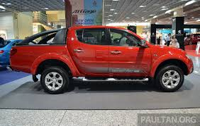 mitsubishi triton 2013 mitsubishi triton vgt gs and gl from under rm100k image 203051