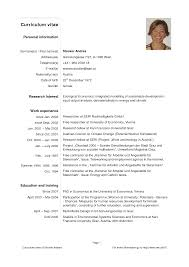 curriculum vitae sles pdf free download cv exles pdf download yralaska com