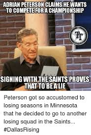 Adrian Peterson Memes - adrian peterson claims he wants to compete fora chionship nfl