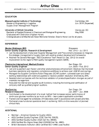 Sample Resume Undergraduate by R And D Test Engineer Sample Resume 20 Vp Medical Affairs Sample