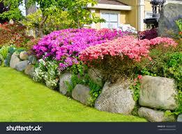 Design For Indoor Flowering Plants Ideas Flower Landscape Design Fresh In Amazing Pictures Front