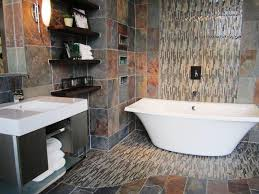 slate tile bathroom ideas excellent slate tile bathroom luxury bathroom design