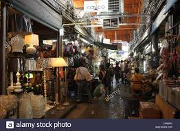 home decor shopping in bangkok walkway near a home decor shop at chatuchak weekend market in