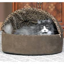 amazon com k u0026h pet products thermo kitty heated pet bed deluxe