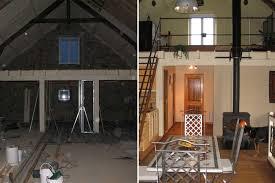 maison rénovée avant après renover une grange avant apres bureaux prestige