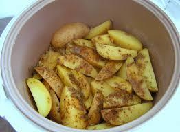 cuisiner avec un rice cooker rapide peu salissant sans surveillance pommes de terre au