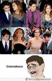 Emma Watson Meme - celebrity meme daniel redcliffe checks out emma watson