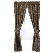Leopard Print Curtains And Bedding Leopard Print Window Curtains Foter