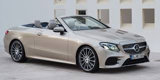 2018 mercedes benz e class cabriolet local pricing announced
