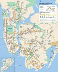 High Line New York Map by The Ultimate Nyc Subway Guide For Tourists By A Local Thither