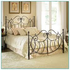 Antique Cast Iron Bed Frame Antique White Wrought Iron Bed Frame