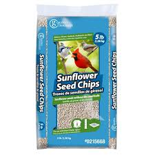 shop garden treasures sunflower chips 5 lb hulled sunflower seed