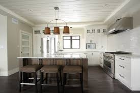 white kitchen cabinets with black island hickory homes kitchen interior design