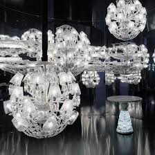 Bacarat Chandelier Le Roi Soleil By Marcel Wanders For Baccarat Is Adjourned With