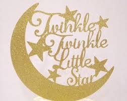 twinkle twinkle cake topper twinkle cake topper etsy