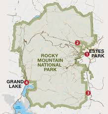 Beaver Lake Map Which Entrance Should I Take Into Rocky Mountain National Park