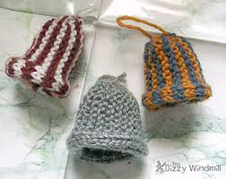 knit ornaments etsy